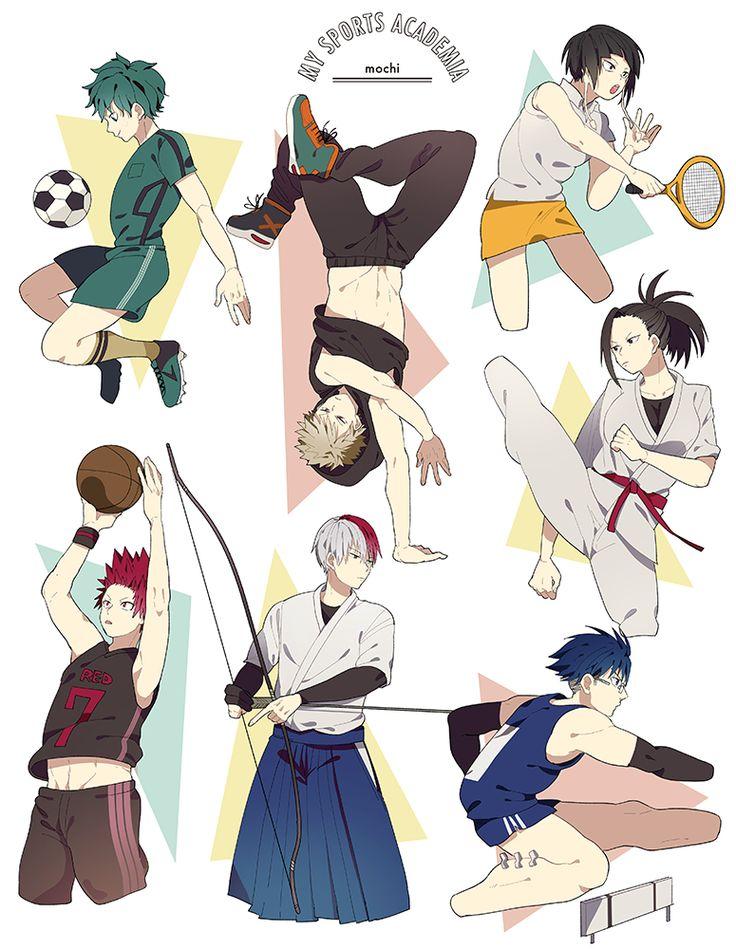 Boku no Hero Academia || Midoriya Izuku, Katsuki Bakugou, Kyouka Jirou, Kirishima Eijirou, Todoroki Shouto, Tenya Iida, Momo Yaoyorozu.