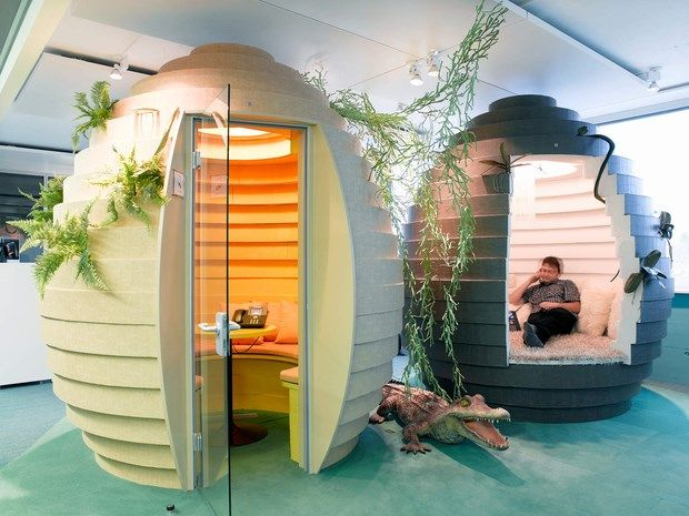Downgraf - Imaginative Google Office of Zurich(9)