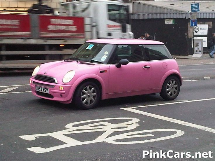 pink yes i said pink mini cooper or if you want to really go in style a pink mini limo. Black Bedroom Furniture Sets. Home Design Ideas