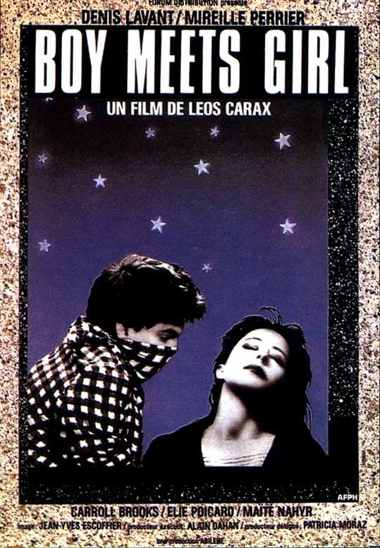 Leos Carax - Boy Meets Girl (1984) http://en.wikipedia.org/wiki/Boy_Meets_Girl_(1984_film) http://www.thecinematheque.ca/boy-meets-girl-the-ecstatic-cinema-of-leos-carax