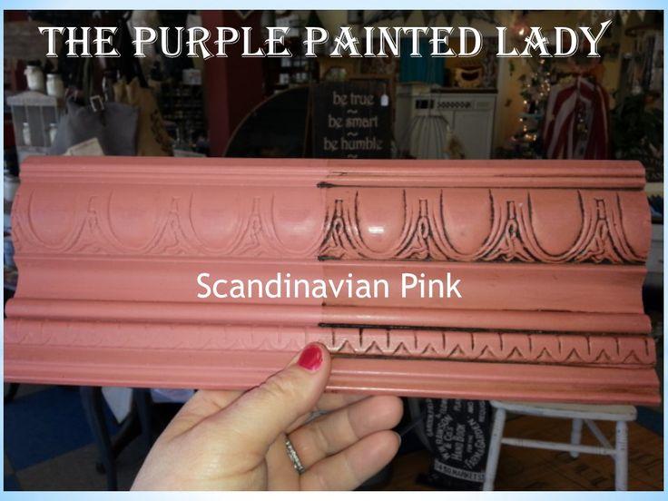 Primer red Sample Board Comparison The Purple Painted Lady Chalk Paint Scandinavian Pink Chalk Paint