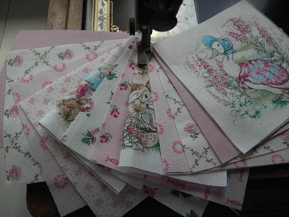 Beatrix Potter Fabric Laura Ashley Verna Mosquera Fabric