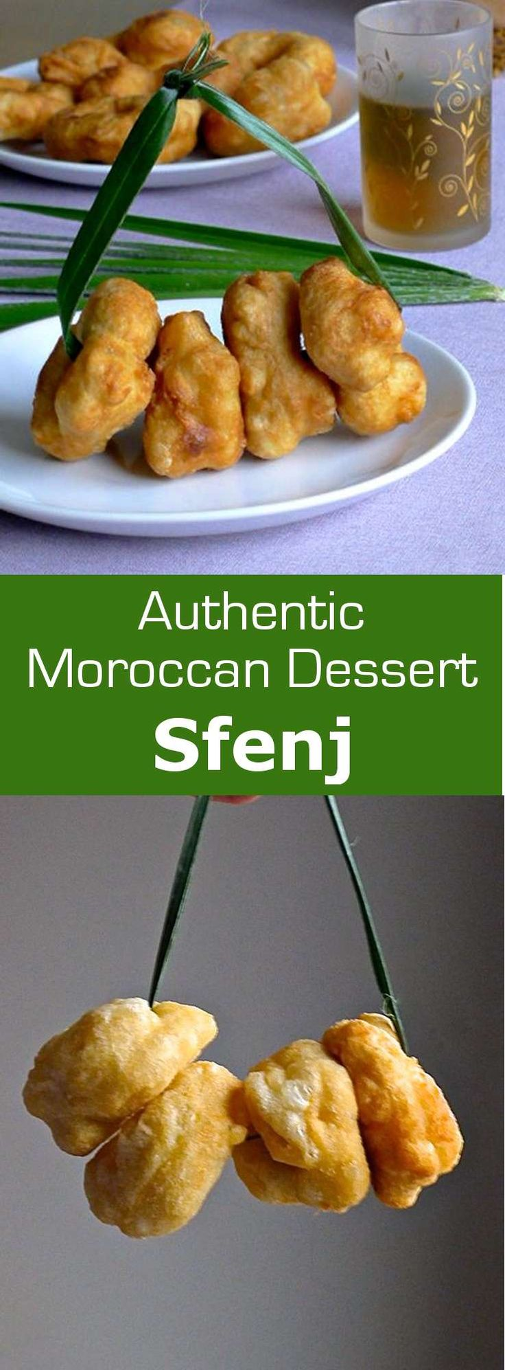 Sfenj are delicious traditional Moroccan beignets which are airy and soft on the inside and crisp on the outside. #dessert #morocco #196flavors