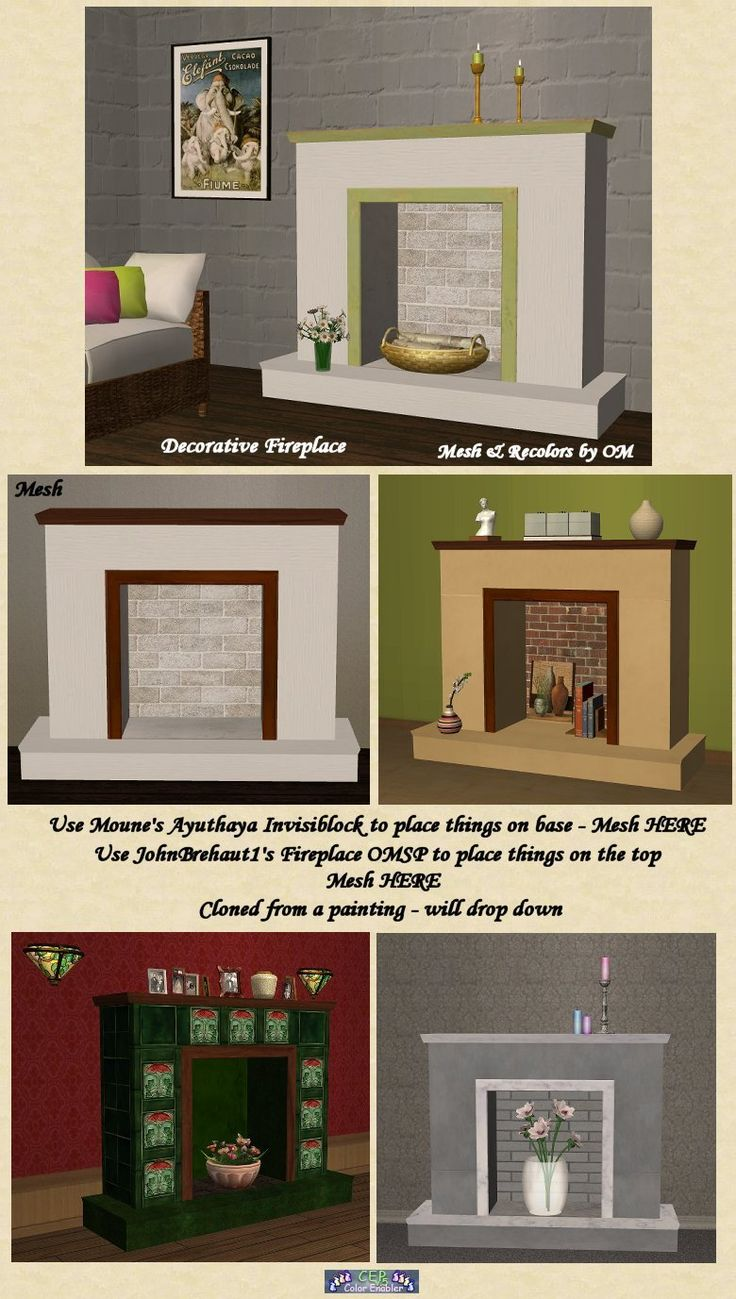 22 best sims 2 fireplaces u0026 water features images on pinterest
