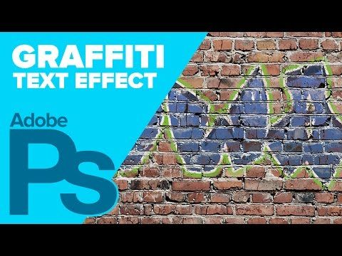 Graffiti Text Effect in Photoshop • IceflowStudios Design Training