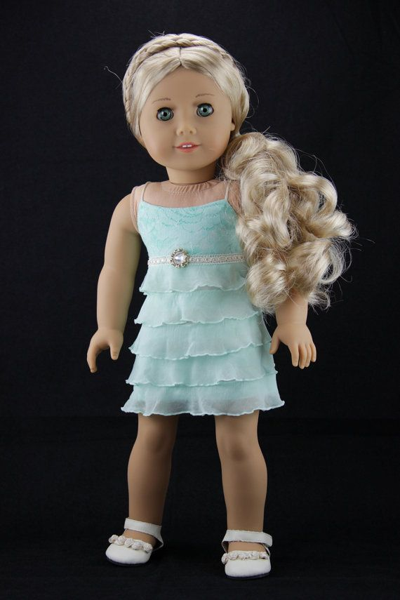 Hey, I found this really awesome Etsy listing at https://www.etsy.com/listing/233116511/american-girl-doll-clothes-ruffled