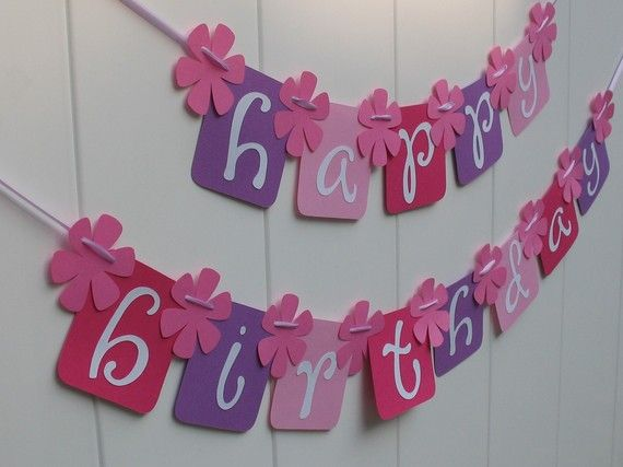 birthday banner: Party Banners, Buntings Banners Garland, Banner Idea, Baby, Cards Banner Pennants 1, Happy Birthday Banners, Party Ideas, Birthday Ideas