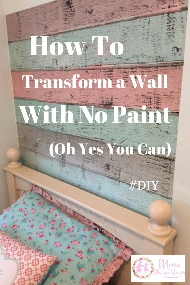 Want to know how to transform a wall with no paint? It's as easy as 1-2-3 and takes minutes with Pixers Wall Murals! DIY made easy and Fun, find out more...