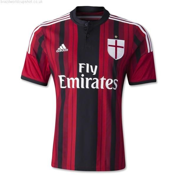 AC Milan 2014/15 Home Shirt. AC Milan shirt.