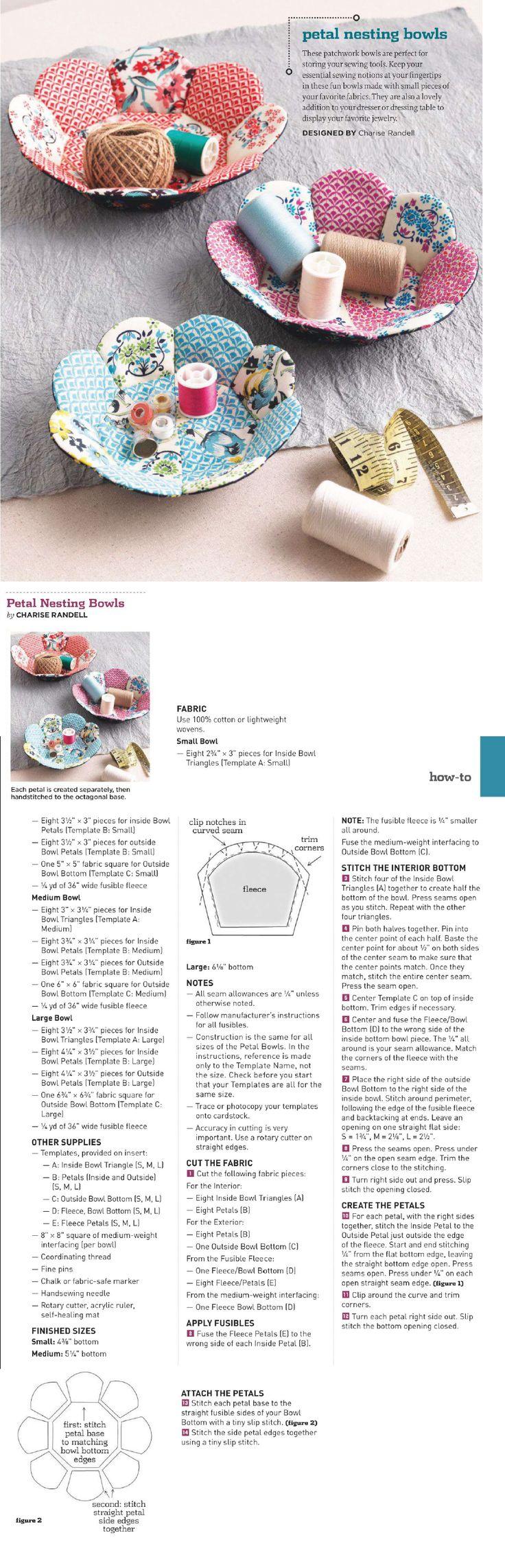 Petal Nesting Bowls