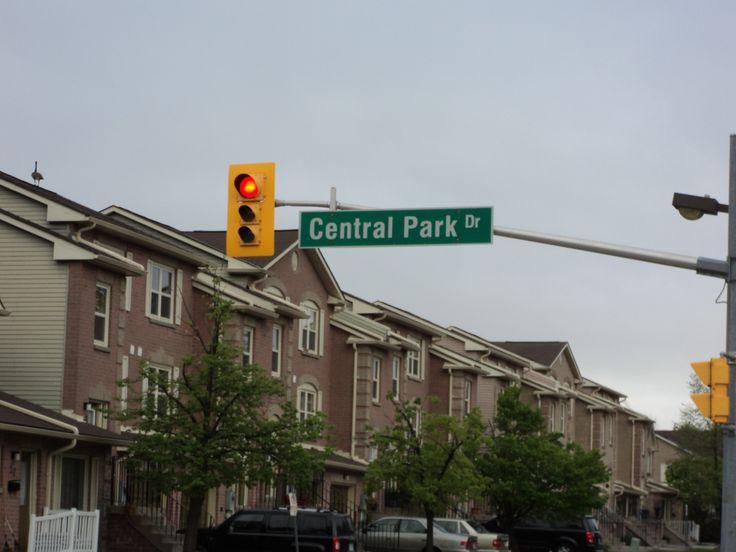 My neighborhood  in Brampton, Canada