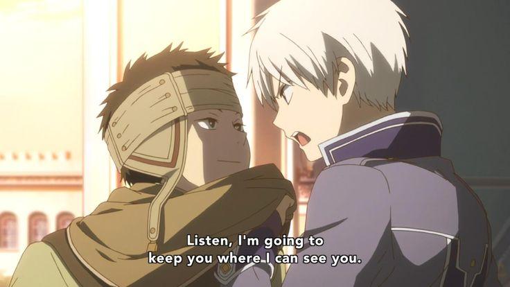 Obi and Zen Akagami no shirayukihime   Akagami no ...
