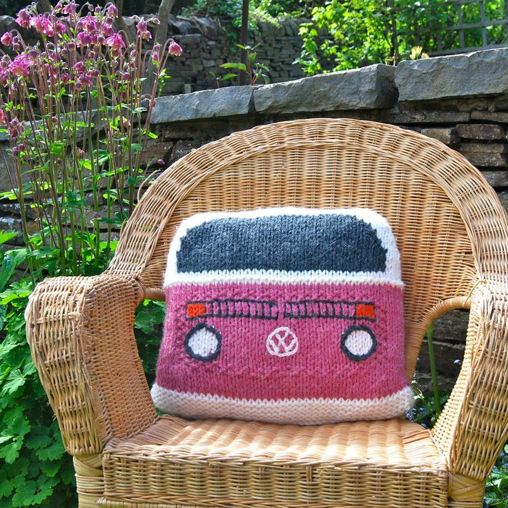 Bay Campervan Cushion cover