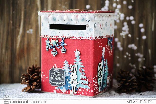 ScrapBox - уникальные материалы для скрапбукинга: Ящик для писем Деду Морозу