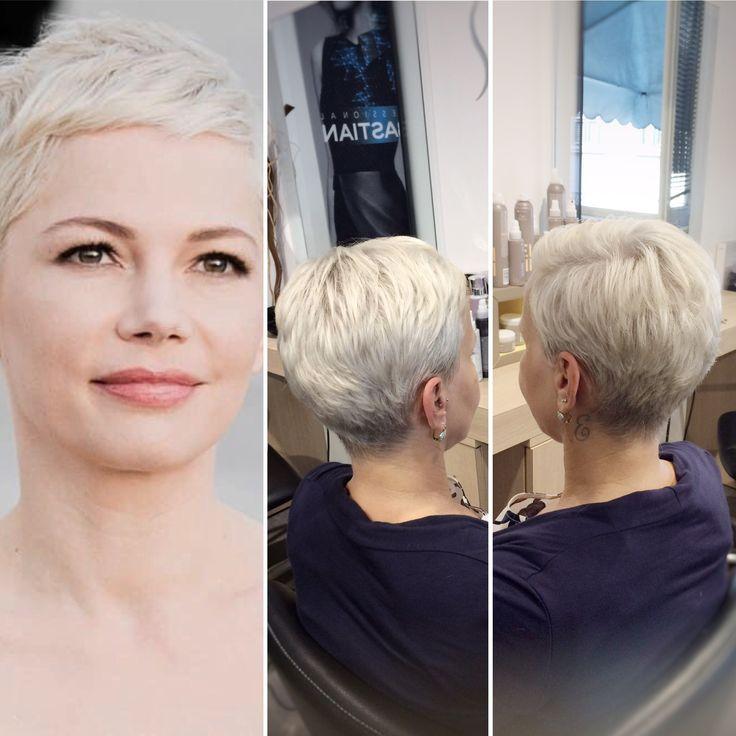 Michelle Williams haircut