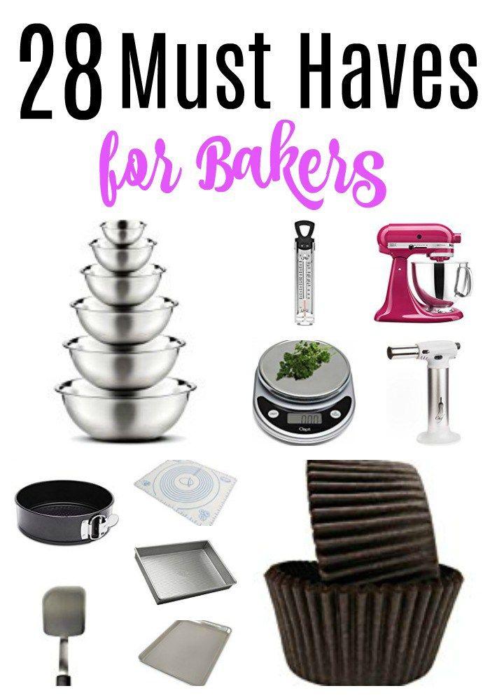 Must Haves For Bakers Baking Utensils Baking Tools Baking