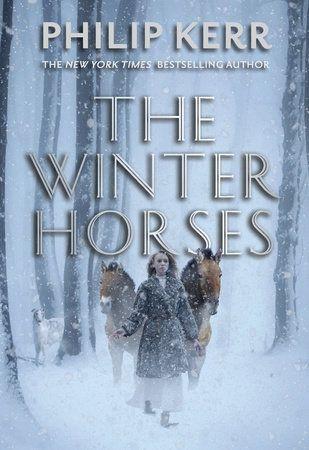 Handelt sich im Weltkrieg. Jüdisches Mädchen flüchtet mit zwei Przewalski Pferden und einem Hund.