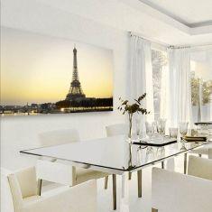 Retrobelyst bilde: Modell Eiffeltårnet