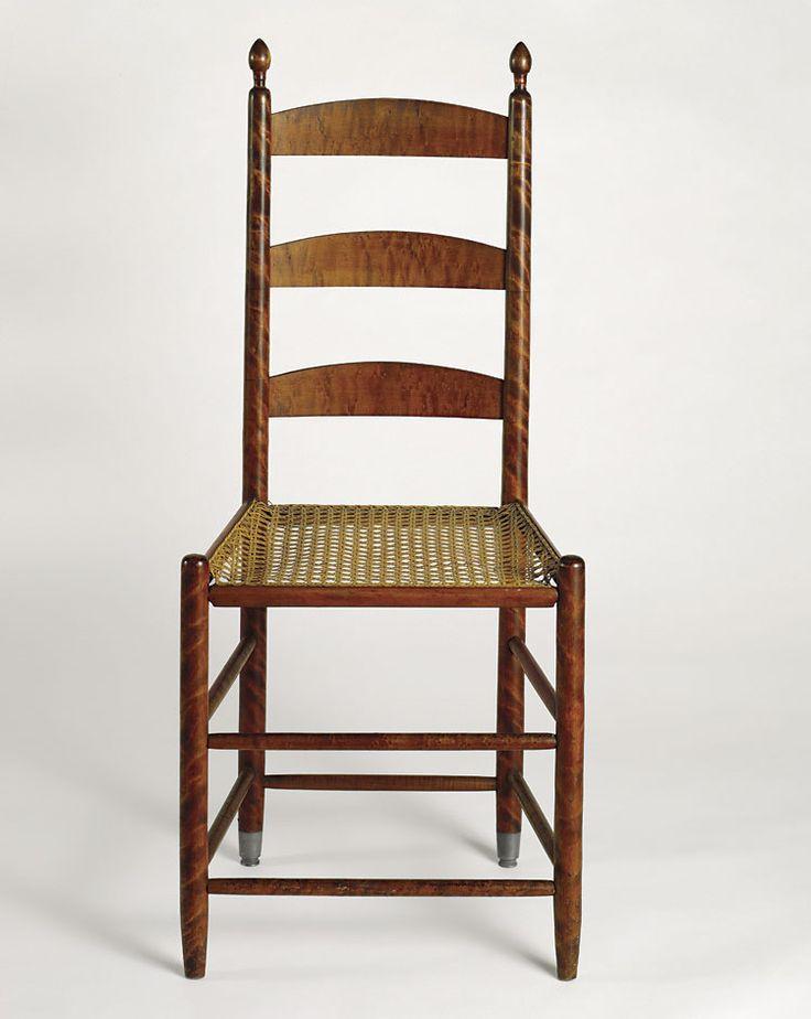 Mt Lebanon Shaker chair in striped maple | Shaker // Shakerish | Pinterest  | Mount lebanon, Shaker style and Antique furniture - Mt Lebanon Shaker Chair In Striped Maple Shaker // Shakerish