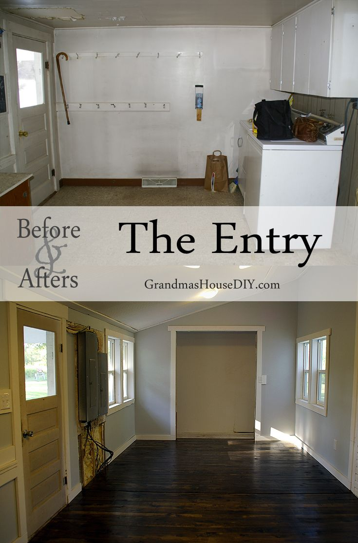 Grandma 39 s house is officially our house before and afters for Renovating a 100 year old farmhouse