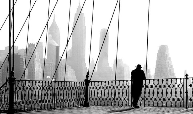 Brooklyn Bridge View, 1943  Paul Himmel