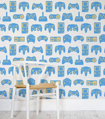 Retro Game Wallpaper Collection by Murals Wallpaper