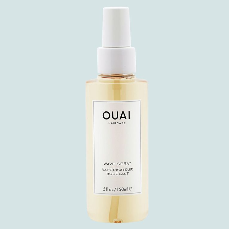 """Embrace wave spray: """"For women with some natural texture, I'm all about applying wave spray to damp hair and letting it air-dry,"""" says Atkin. She's a fan of Ouai Wave Spray, which is made with rice protein, not salt, so it doesn't dry out hair. """"I use it pre- and post-styling to get a piecey, lived-in texture.""""Once you apply the product, """"you can twist random strands to create more defined pieces,"""" she says. """"When hair is dry, just scrunch in a little more spray and you're good to go."""""""