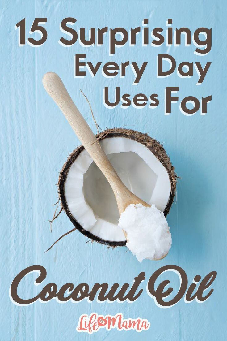 It seems like everywhere you look on the internet you see a new use for coconut oil. Here are 15 every day uses for coconut oil that may surprise you.