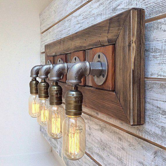 39++ Barnwood vanity light model