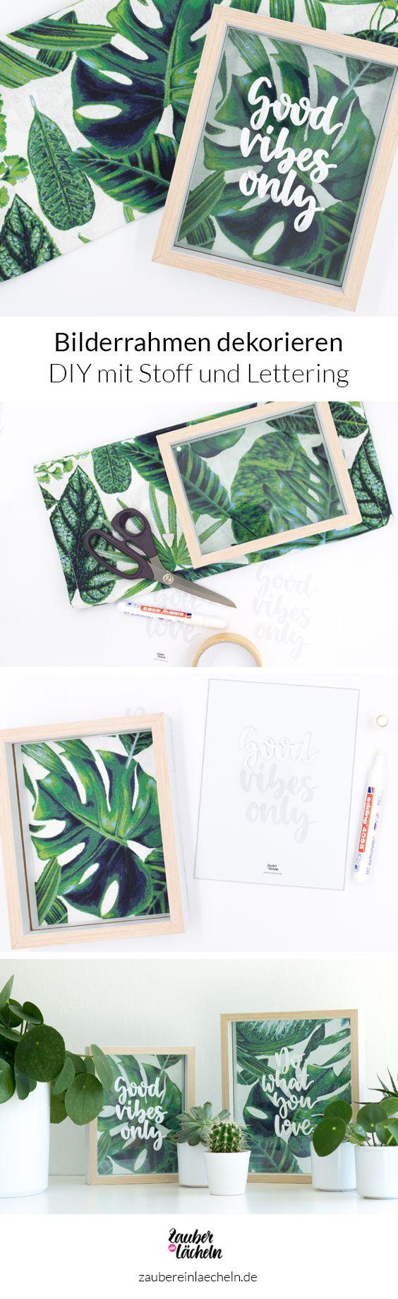 43 besten Pictures Frame DIY Bilder auf Pinterest | Diy foto, Rahmen ...