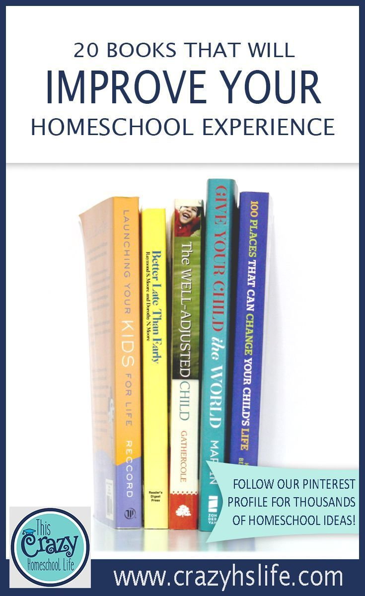 Improve your homeschool experience with this list of books that cover every aspect of homeschooling.