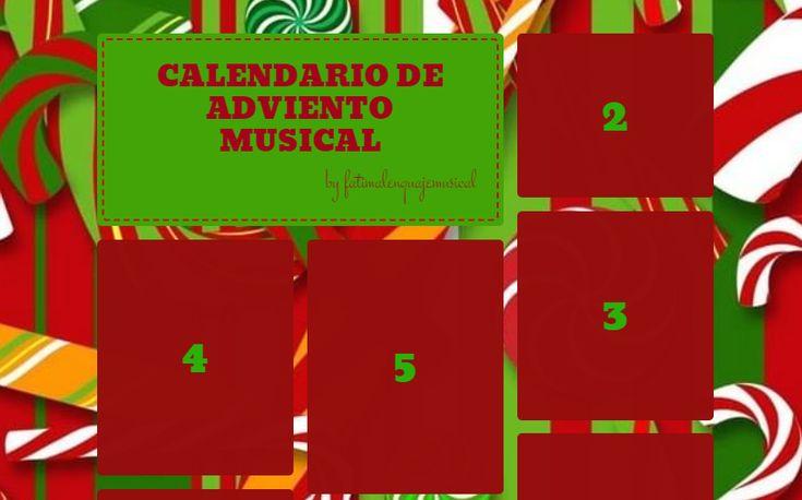 El Lenguaje Musical de Fátima: CALENDARIO DE ADVIENTO MUSICAL
