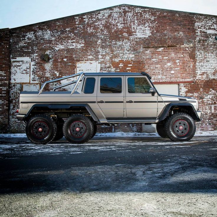 Mercedes-Benz Brings G63 AMG 6x6--- its Mercedes on steroids!!!