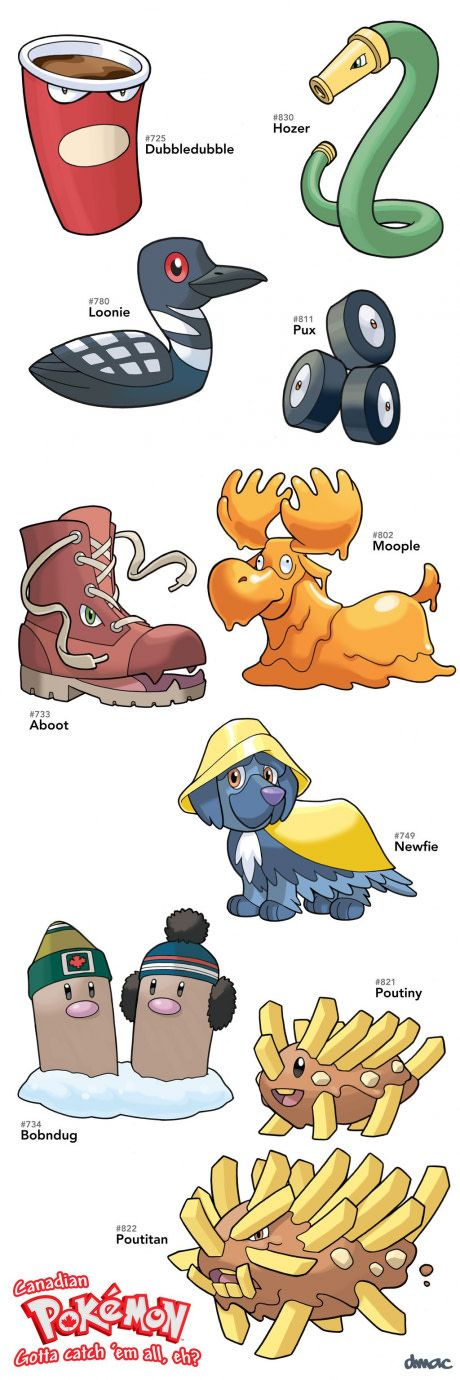 Canadian Pokémon!