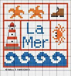 Nautical knitting chart