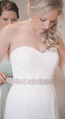 Crystal & Pearl Velvet Sash, Skinny Wedding Belt, Rhinestone Bridal Sash in Crafts,Sewing & Fabric,Sewing | eBay