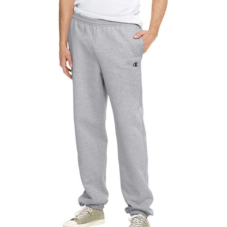 Champion Eco Fleece Elastic-Hem Mens Sweatpants