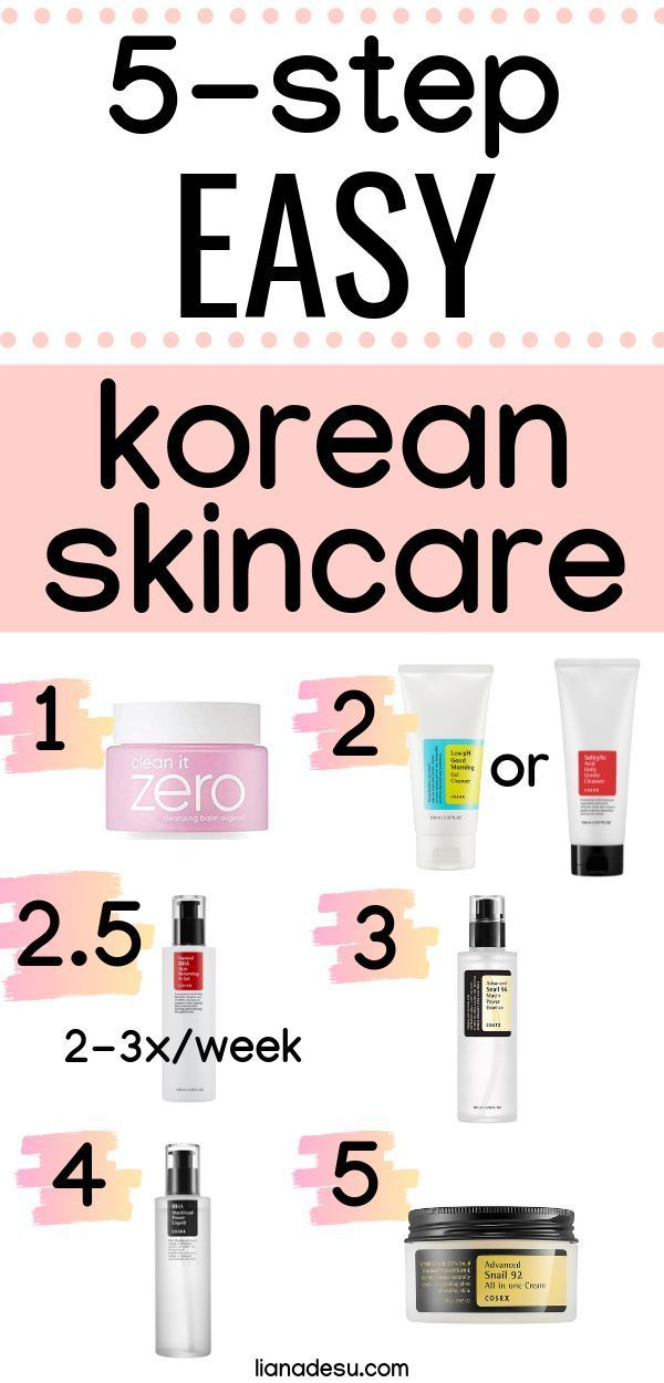 Easy 5 Step Korean Skincare A Great Introduction To Korean Skincare Products Liana Desu Korean Skincare Korean Skincare Routine Combination Skin Care Routine