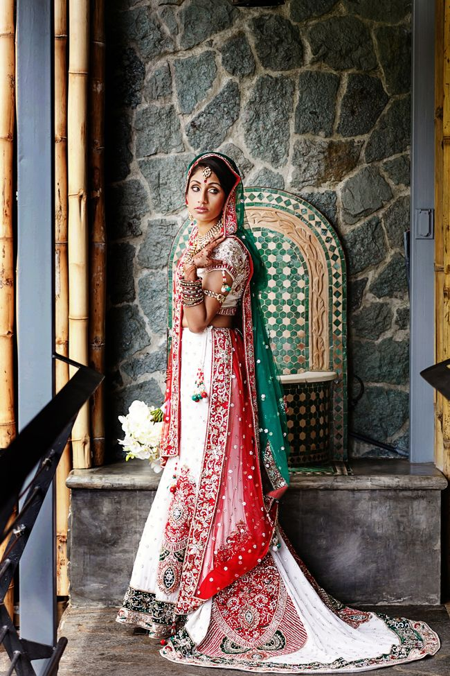 34a indian wedding bridal lengha