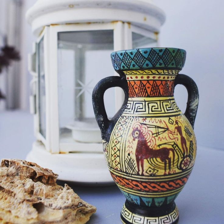 At the touch of love everyone becomes a poet. ❤️🏺Discover the world of ancient Greek art with wonderful handmade ceramics www.acropolisgallery.etsy.com