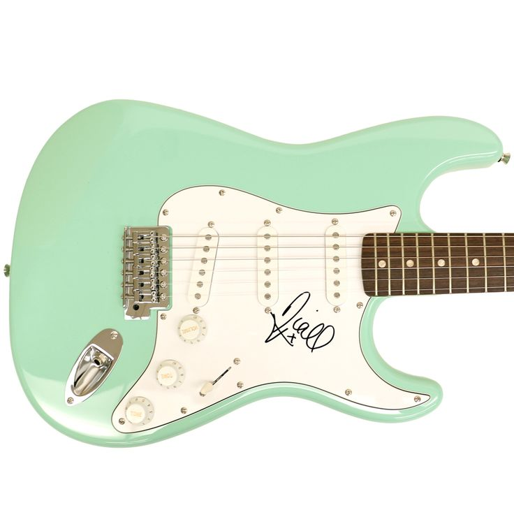 Charitybuzz: Fender Squier Strat Guitar Autographed by Niall Horan - Lot 1173029