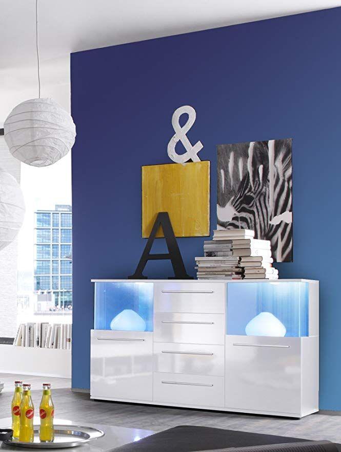trendteam smart living Wohnzimmer Sideboard Kommode Schrank Punch