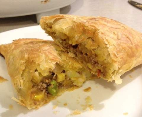 Recipe Lamb and vegetable Pastie by ThermoFied - Recipe of category Main dishes - meat