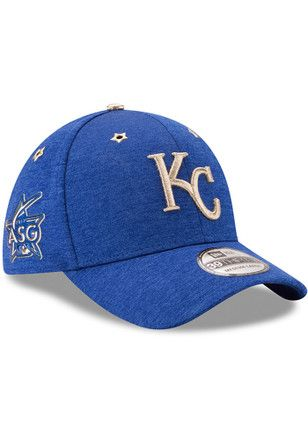 f86b5101 New Era Kansas City Royals Mens Blue 2017 All Star Game 39THIRTY Flex Hat
