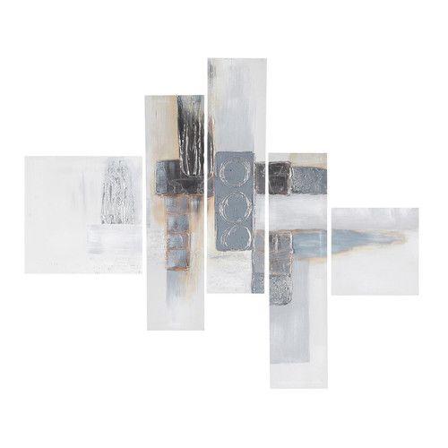 Toile destructurée peintes MODERN ARTS   Maisons du Monde