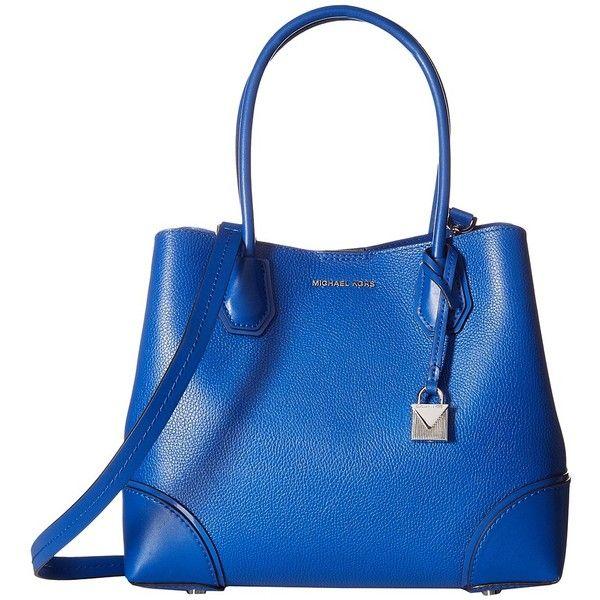 c6097fa5f5f6 MICHAEL Michael Kors Mercer Corner Medium Center Zip Tote (Electric... (970  BRL) ❤ liked on Polyvore featuring bags, handbags, tote bags, tote  handbags, ...
