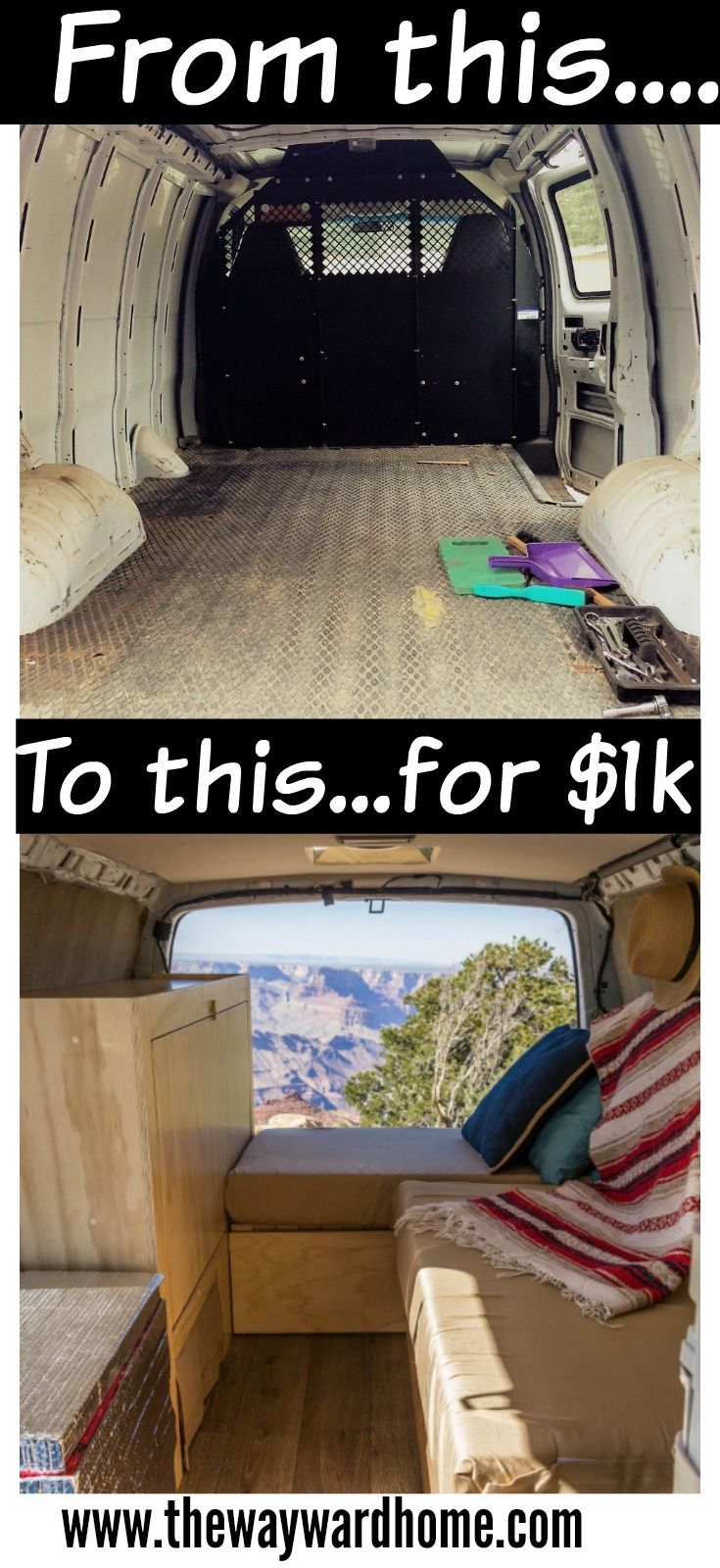 Find Out How One Couple Did A DIY Camper Van Conversion For Just 1000 If