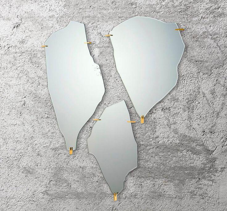 Decorative mirrors for your home, Archipelago mirror, Fredrikson Stallard, Driade, 2015