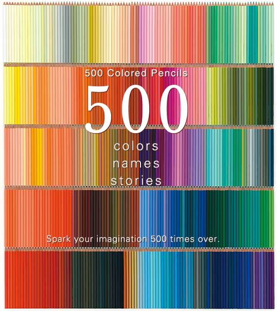 20 colored pencils shipped to you each month for 20 months = 500 amazing colors. I seriously want it.