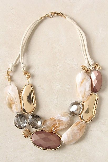 My favorite necklace from Anthropologie